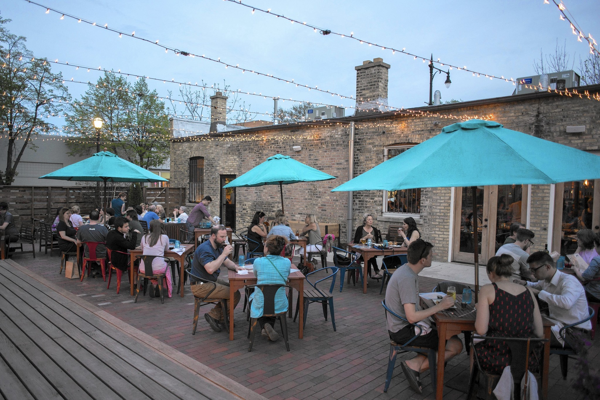 Five outdoor dining spots with new twists this season