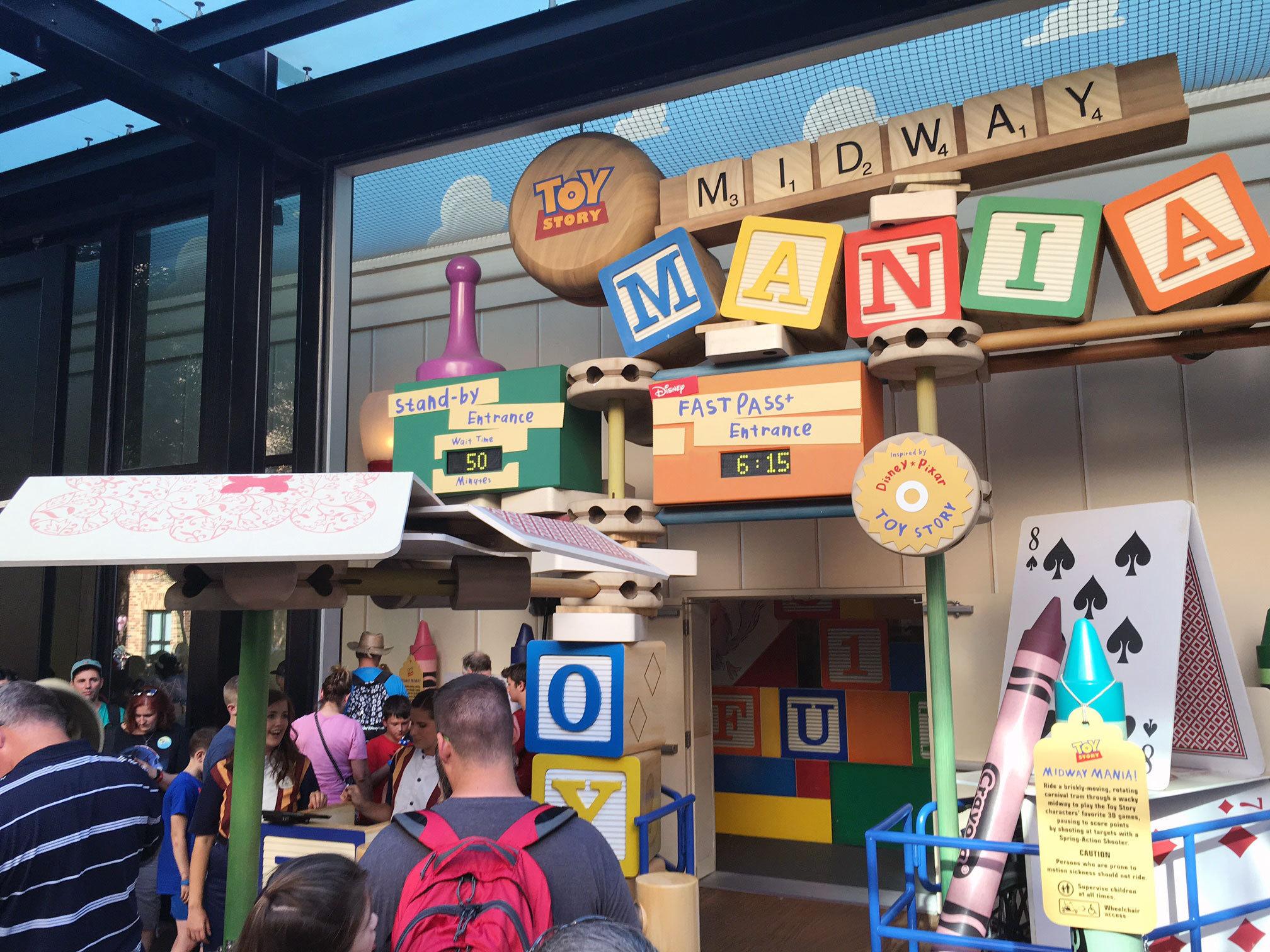 Toy Story Mania Expansion Alleviates Longest Waits Improves Tech