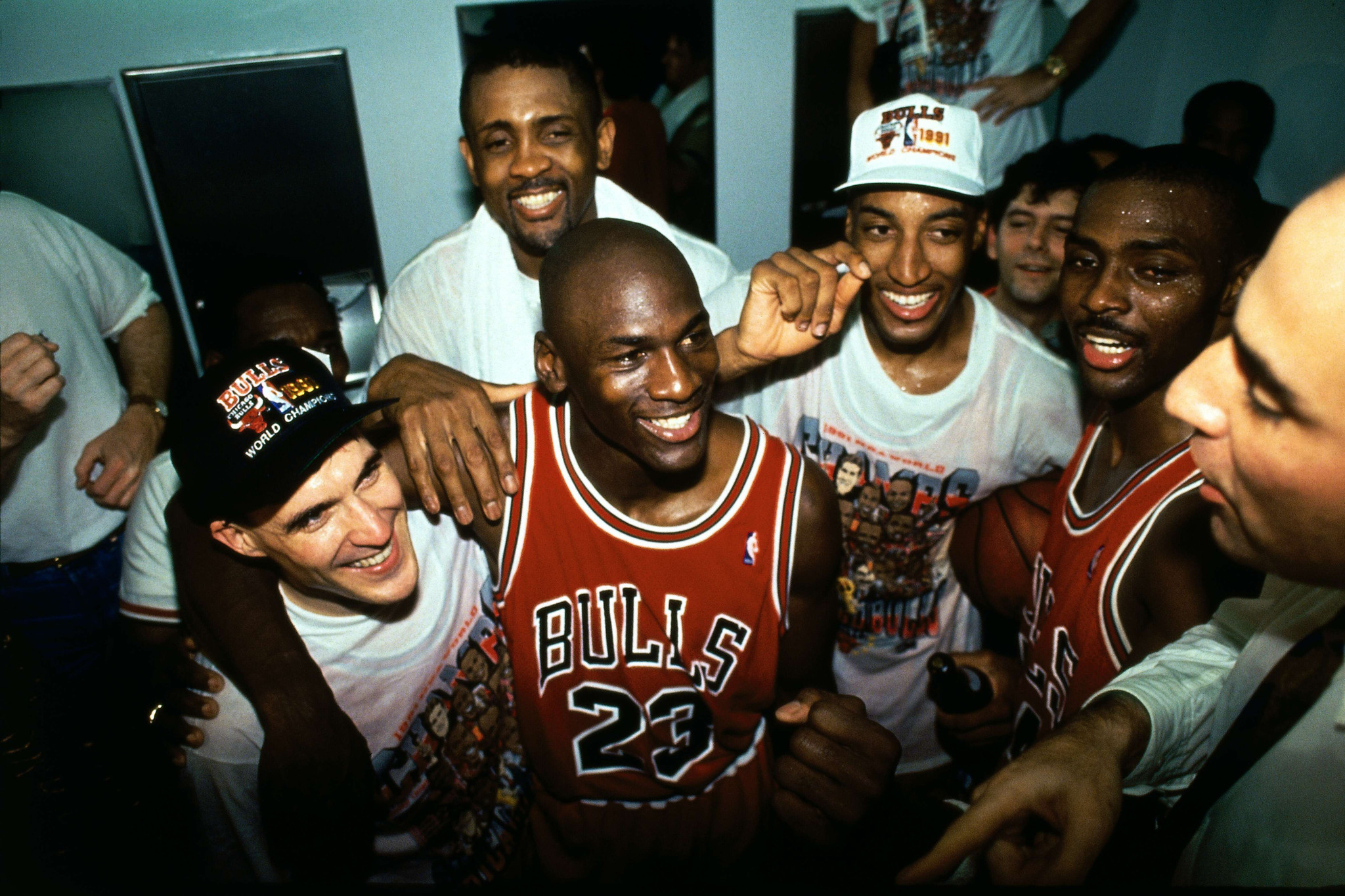 7e696a97104 Michael Jordan s greatest NBA Finals moments - Chicago Tribune
