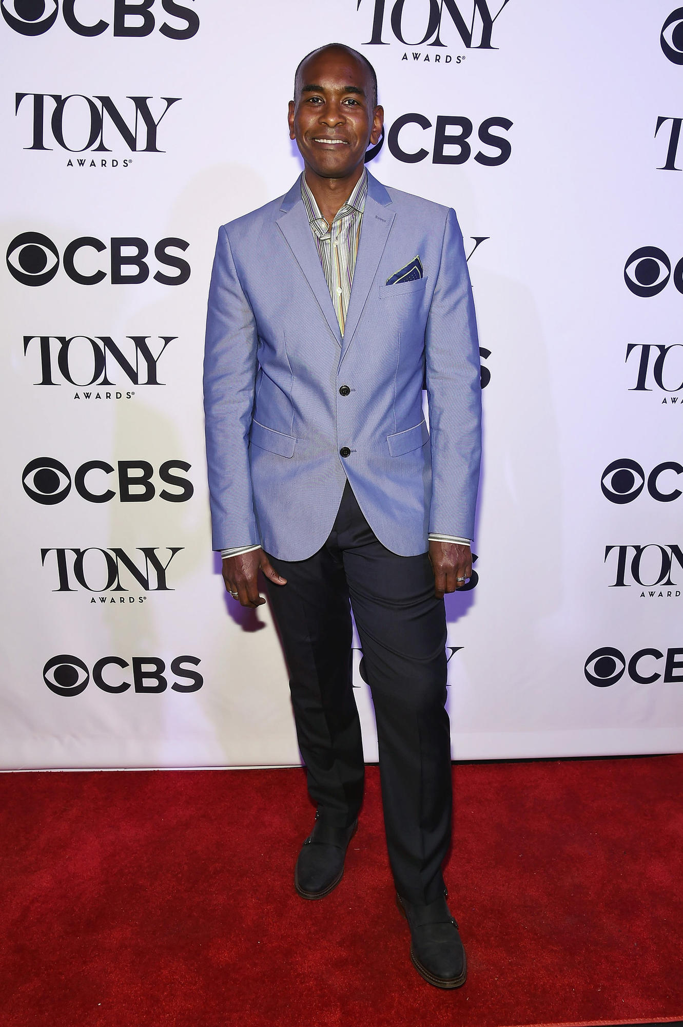 Tony-nominated costume design Paul Tazewell at a Tony Awards event Monday in New York City.