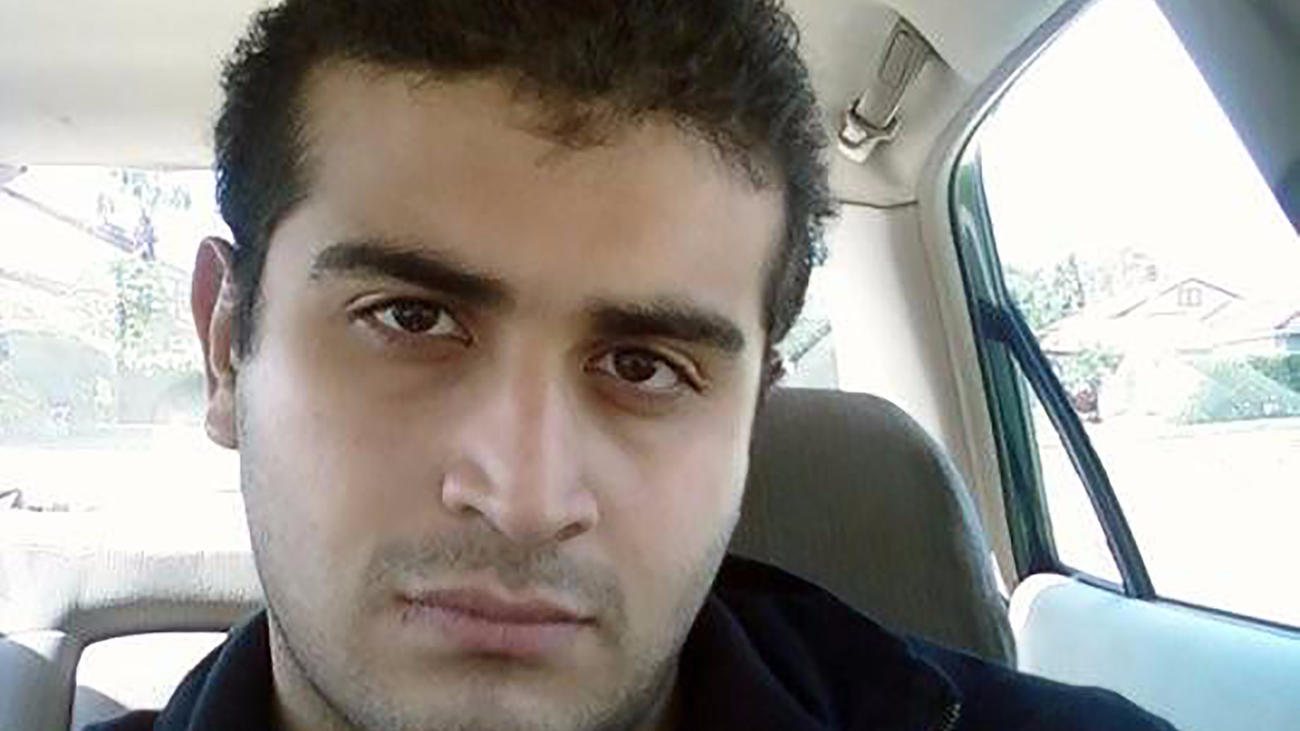 Omar Mateen, shown in undated photograph. (AFP/Getty Images)