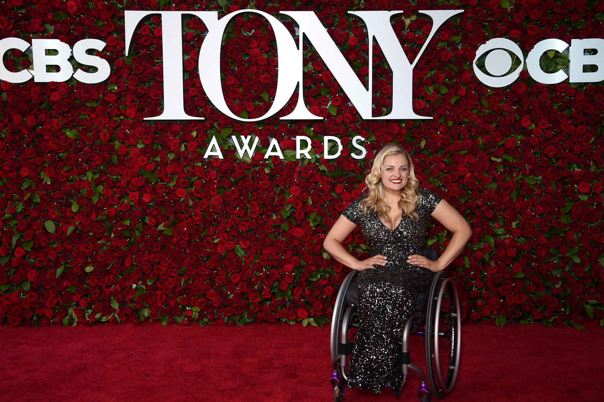 Actress Ali Stroker attends the 70th Tony Awards at The Beacon Theatre. (Dimitrios Kambouris/Getty Images for Tony Awards Productions)