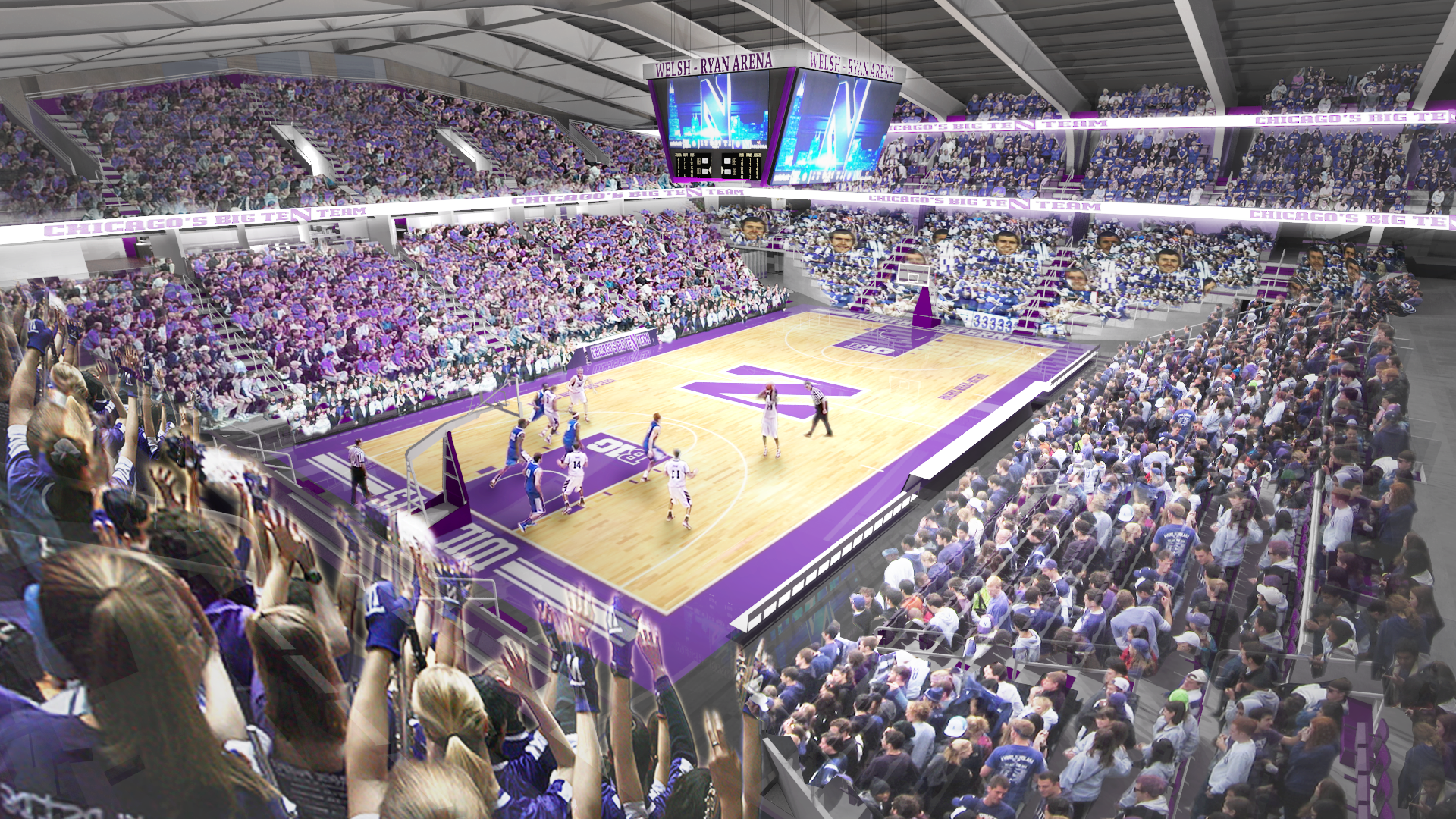 Northwestern S Welsh Ryan Arena To Receive Long Overdue
