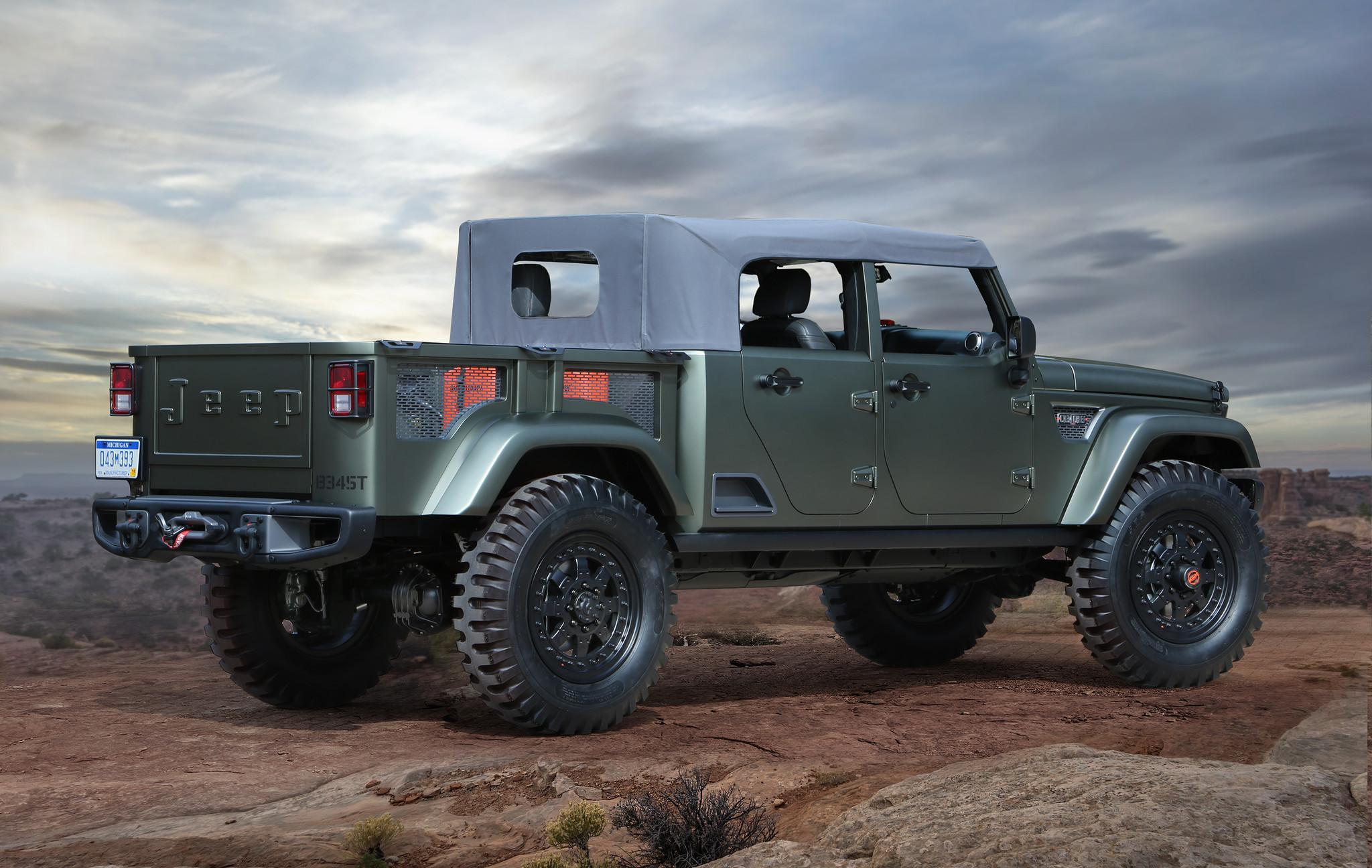 Jeep Concept 2016 >> 2016 Easter Jeep Safari Wild Off Road Concept Vehicles Chicago Tribune