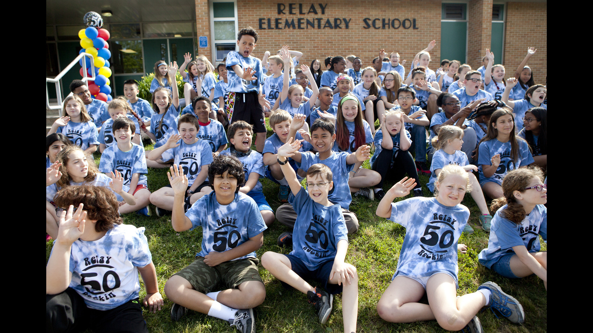 With Final Year Ahead Relay Elementary Begins Celebration