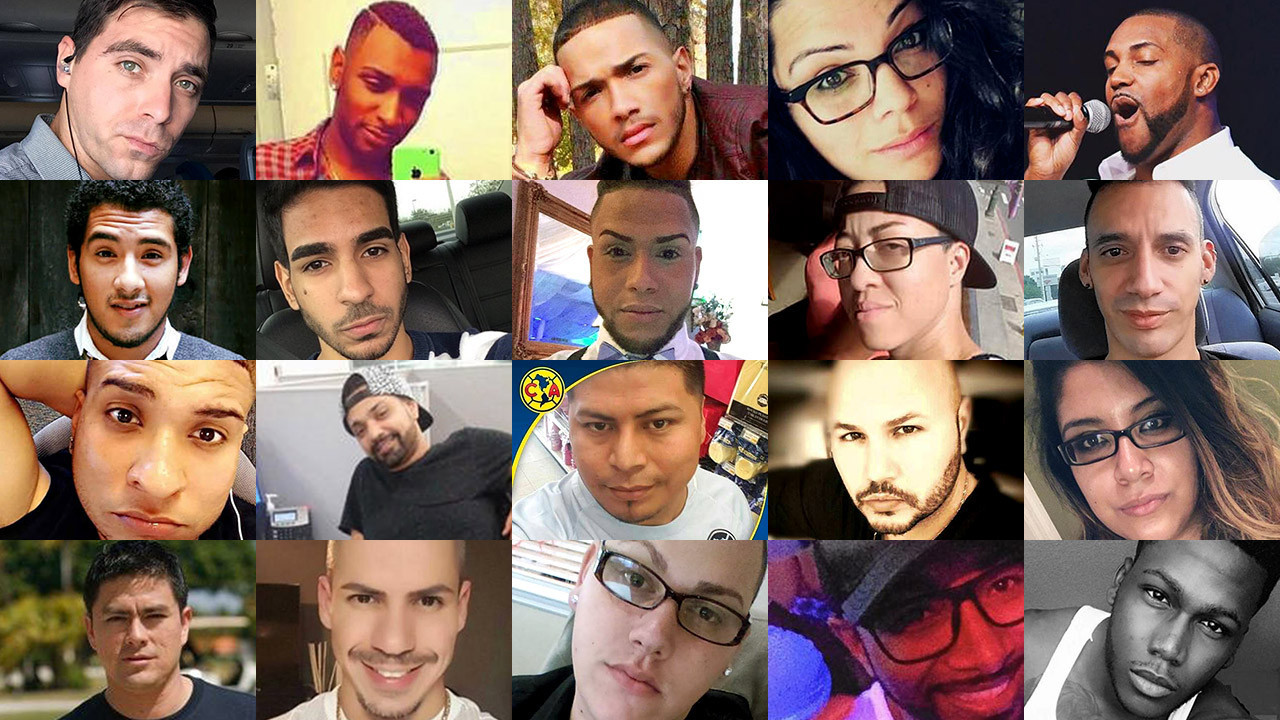 pictures victims of mass shooting at pulse nightclub in orlando