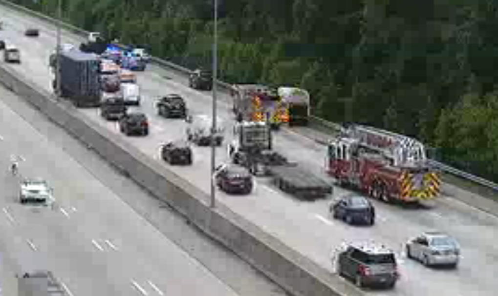 Update: All lanes clear on I-64 eastbound - Daily Press