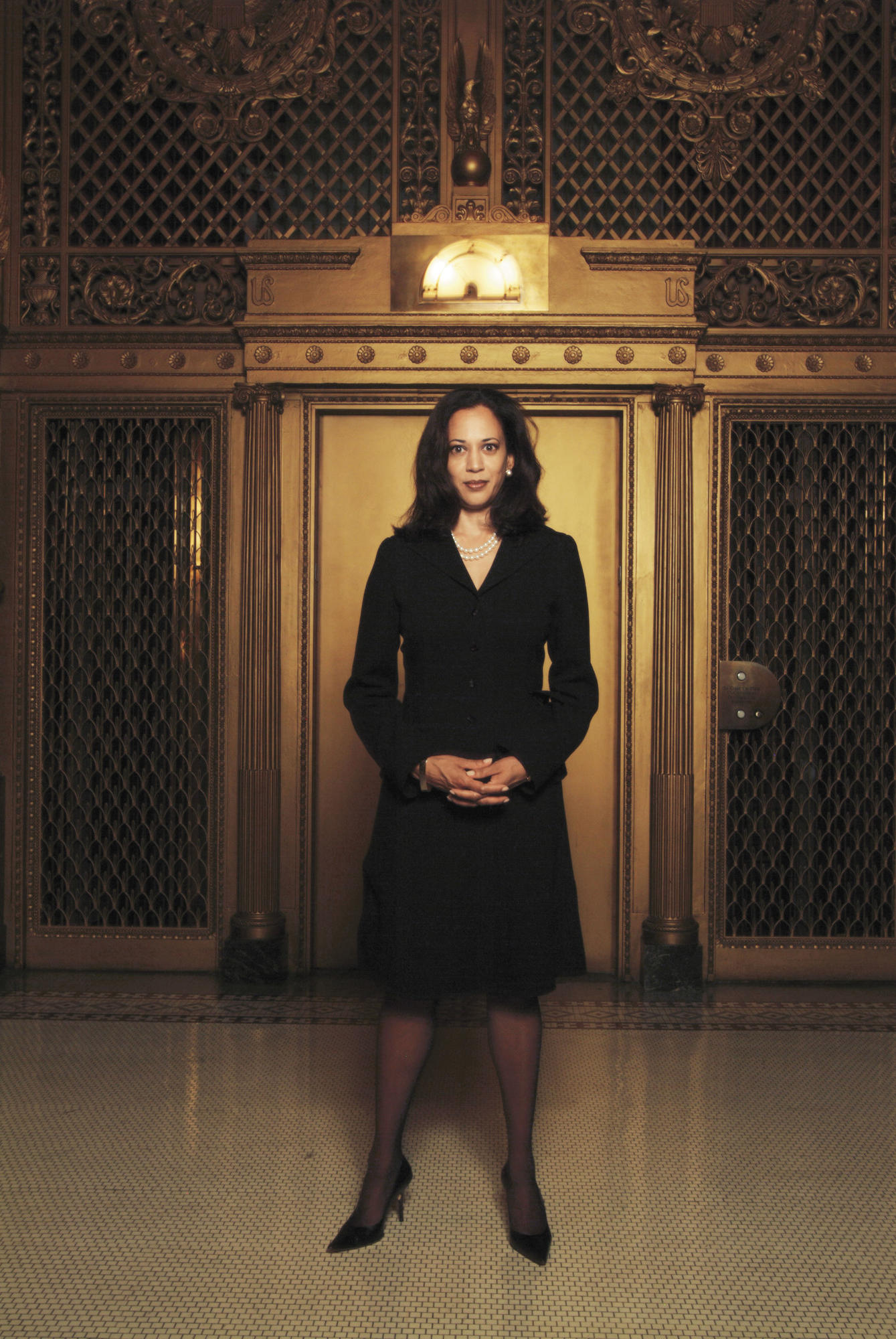 Kamala Harris in 2004, the newly elected San Francisco District Attorney.