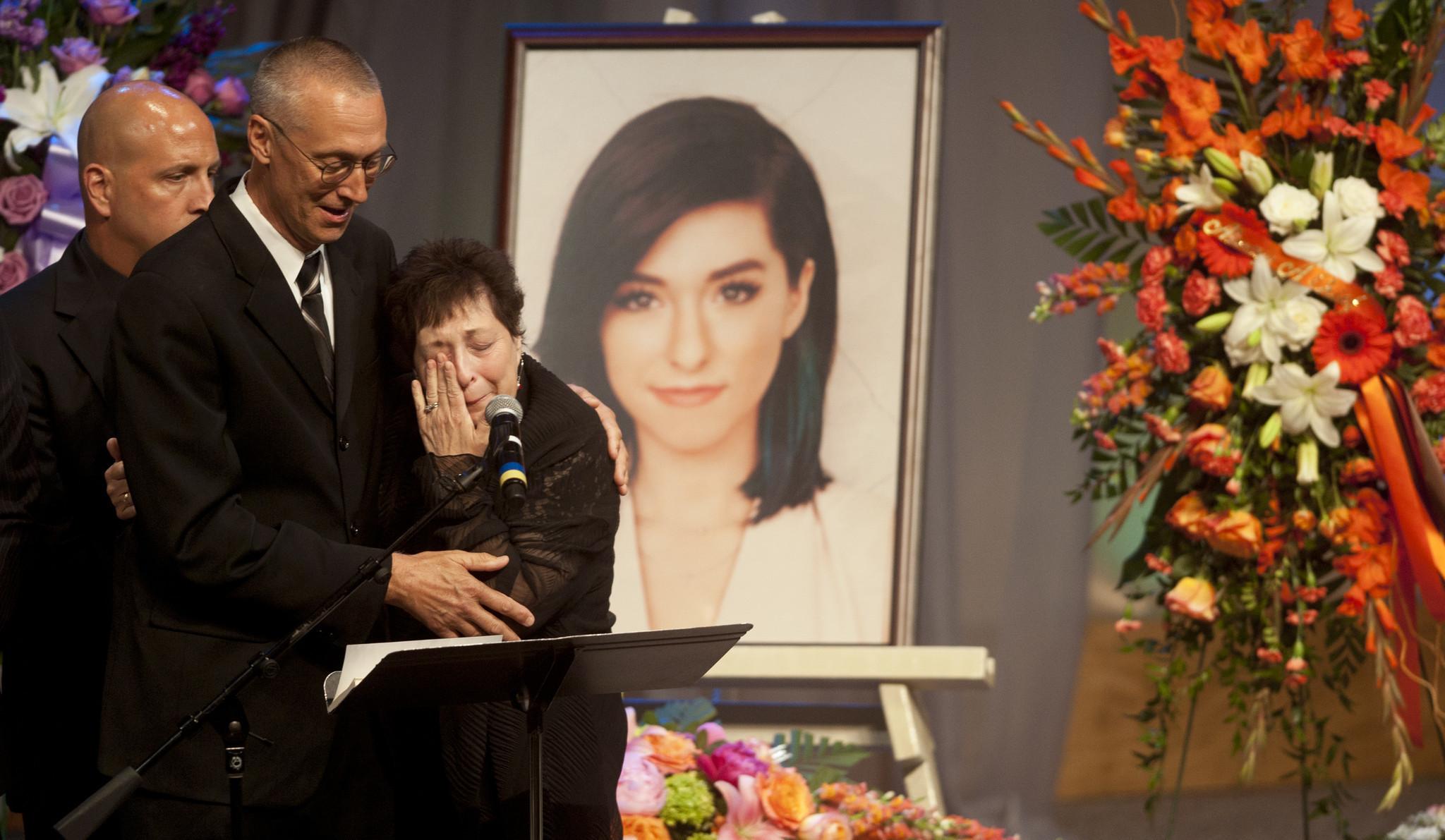 Thousands Say Farewell To Slain Voice Singer Christina