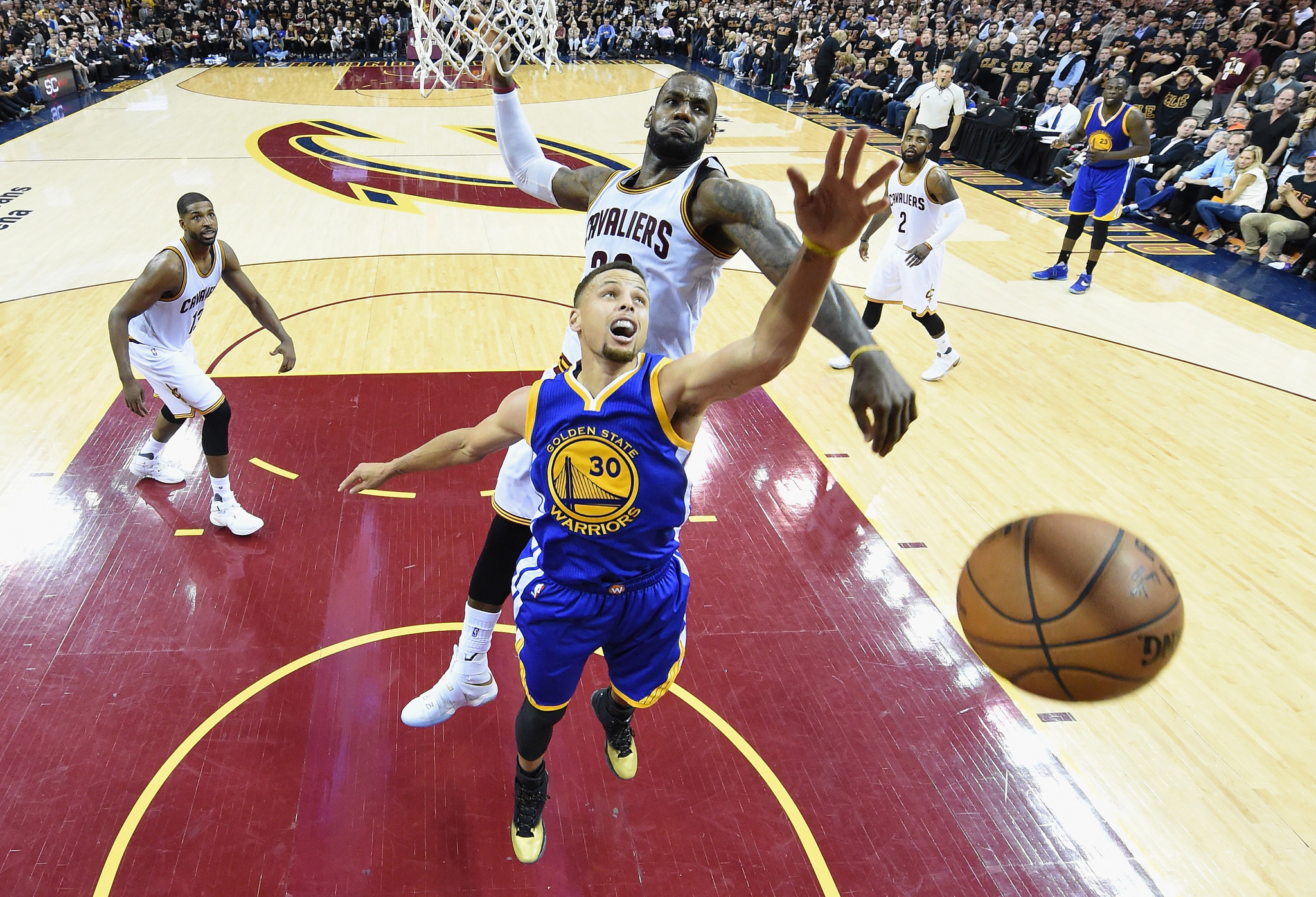 Emotions Running High For Warriors, Cavaliers And Their Fans