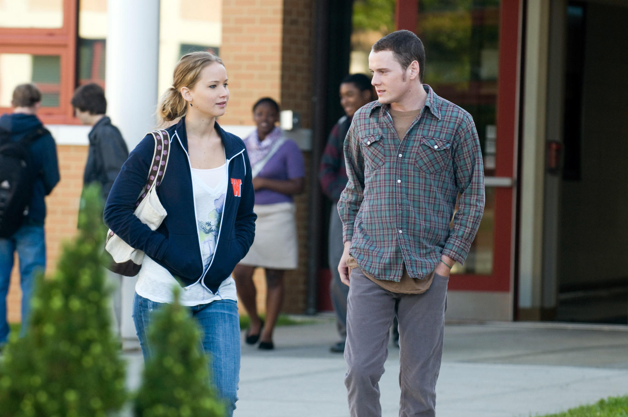"Anton Yelchin stars with Jennifer Lawrence in ""The Beaver."""