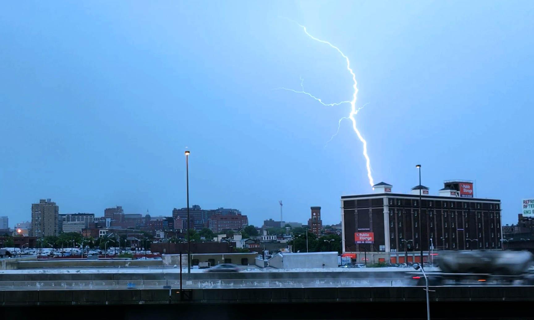 Baltimore Region Under Flood Warnings Severe Thunderstorm