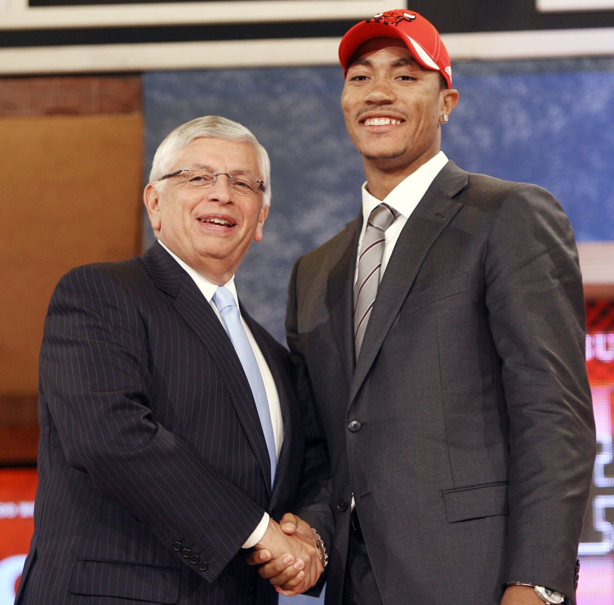 Image result for derrick rose draft