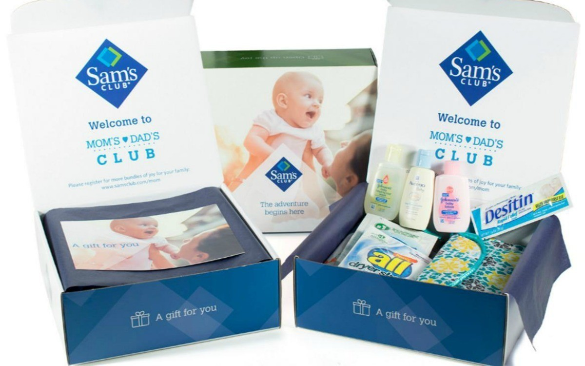 Free Baby Sample Box Free 20 Gift Card From Sam S Club No