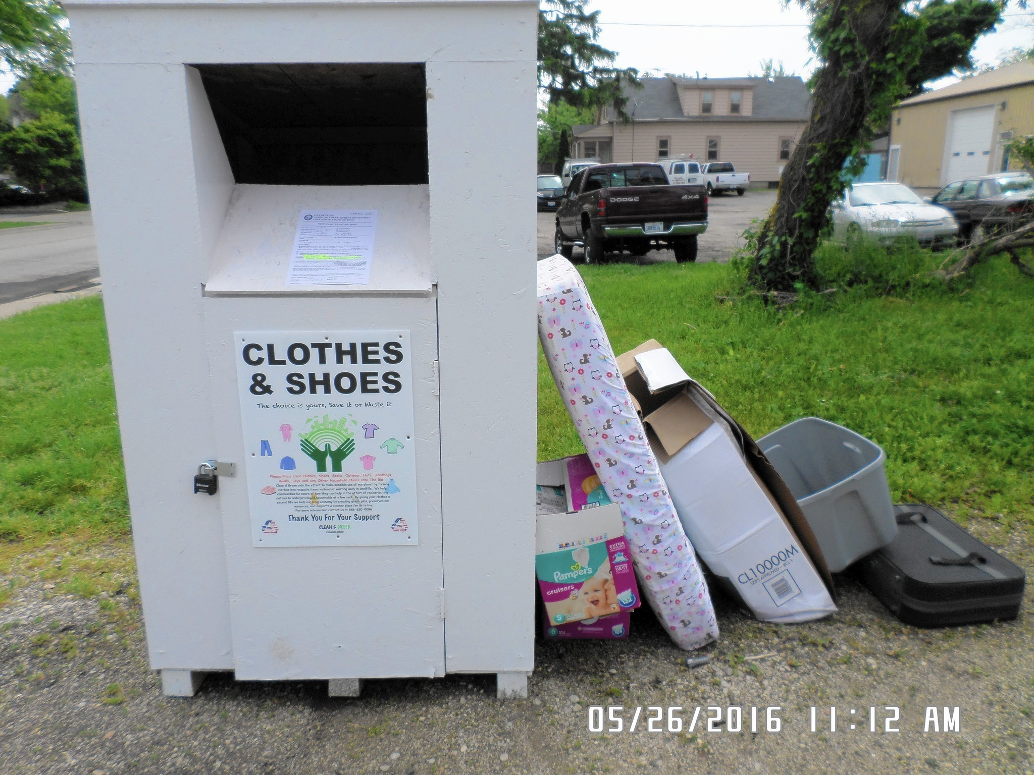 Elgin Sees Rash Of Mystery Donation Bins Left Across City