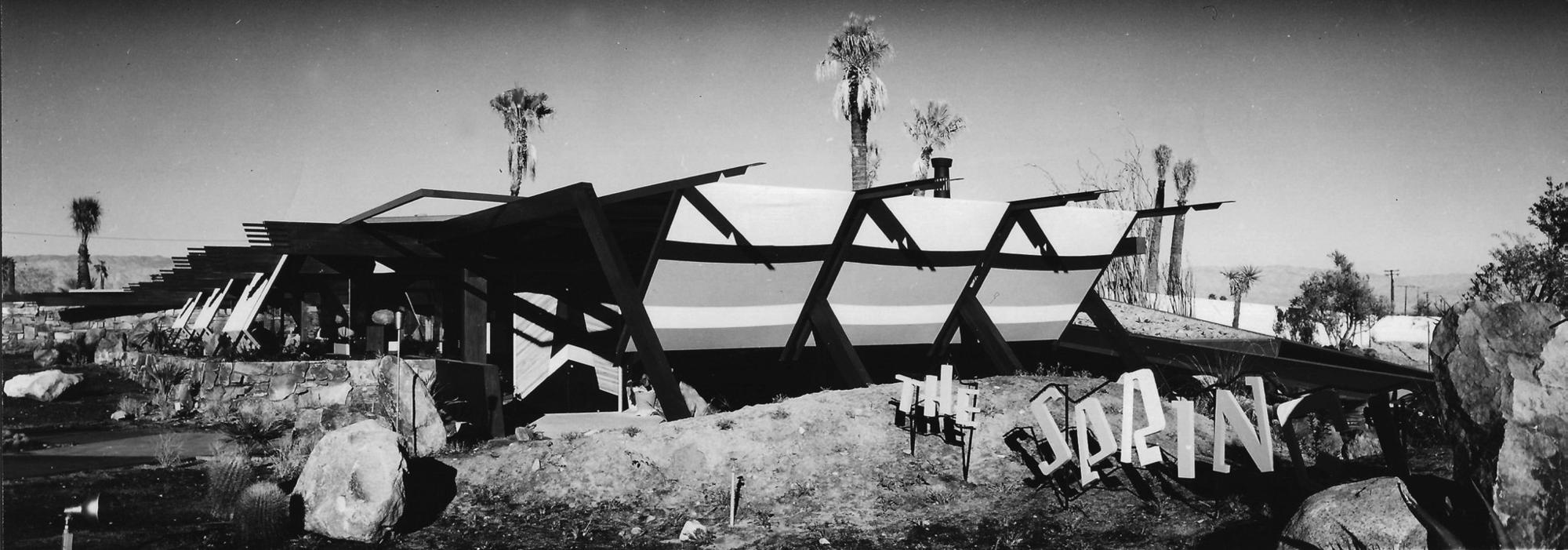 William F. Cody's Huddle's Springs Restaurant in Palm Springs, demolished in the 1990s.