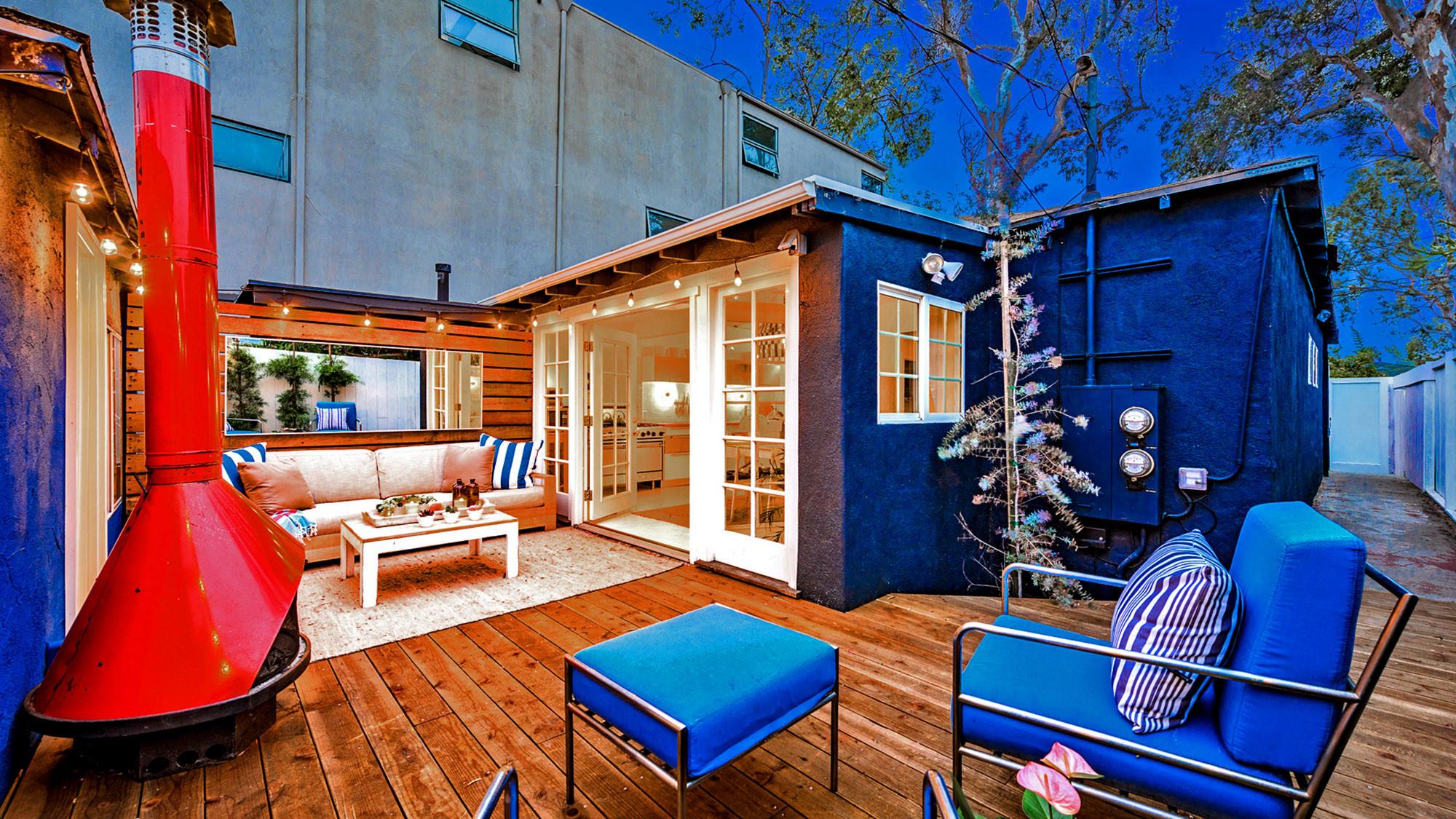Lauren Siegel's Venice beach cottage.