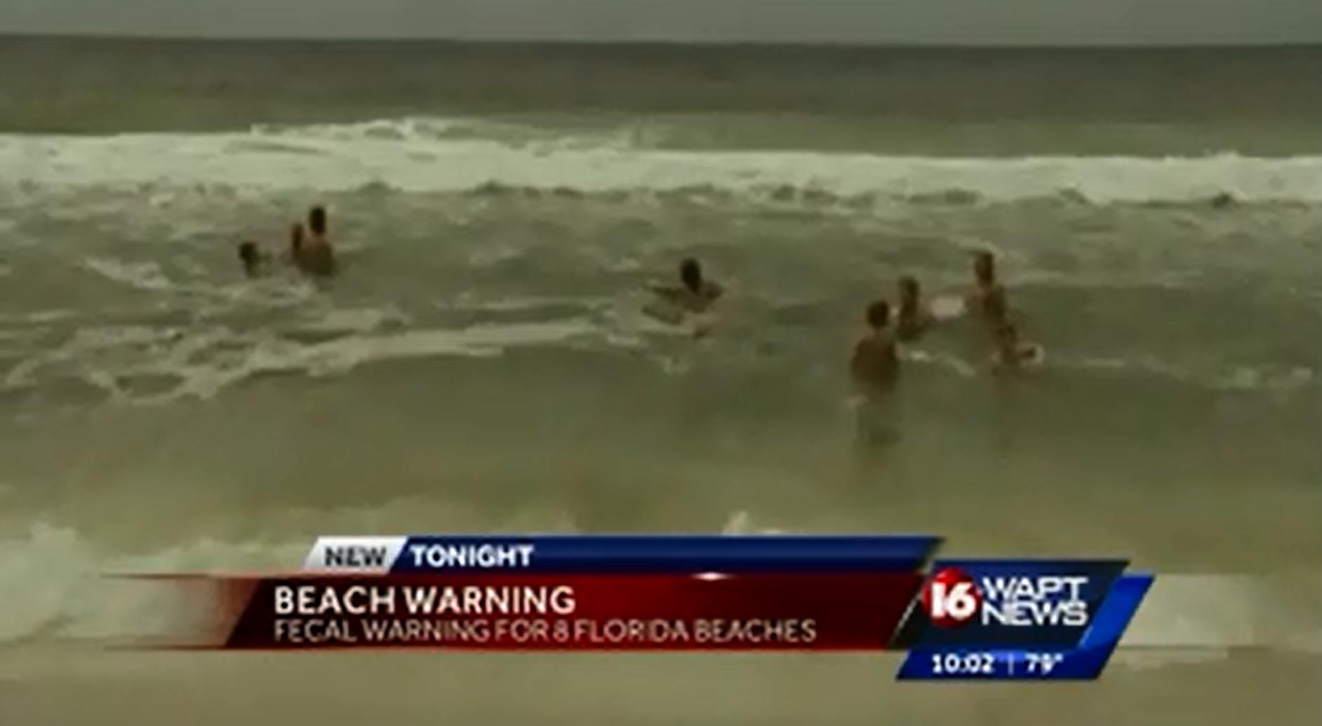 Bacteria Levels At Florida Panhandle Beaches Prompt No Swim Advisories Orlando Sentinel