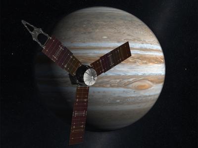 Juno arriving at Jupiter