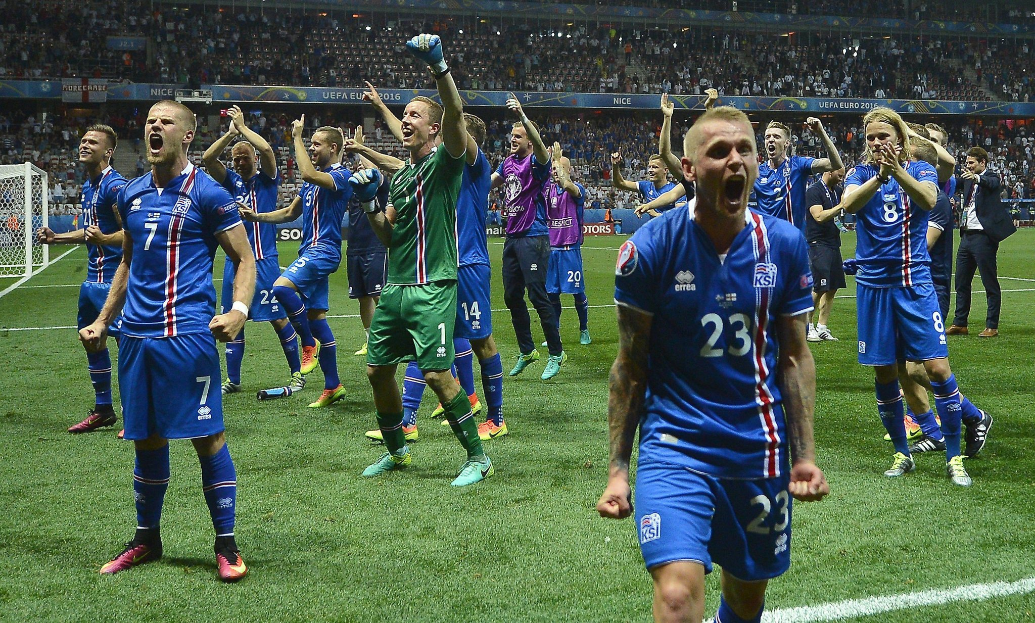 6124ff4c5 Iceland s miracle soccer run creating havoc for jersey sellers - Chicago  Tribune