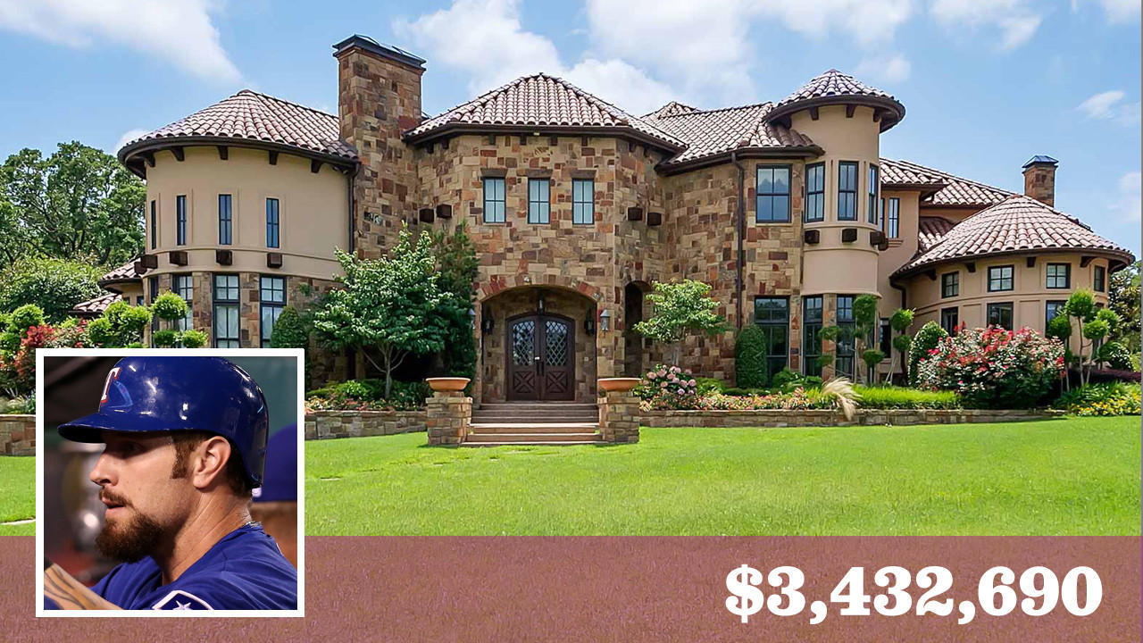 Rangers Josh Hamilton Puts His Texas Mansion Up For Sale