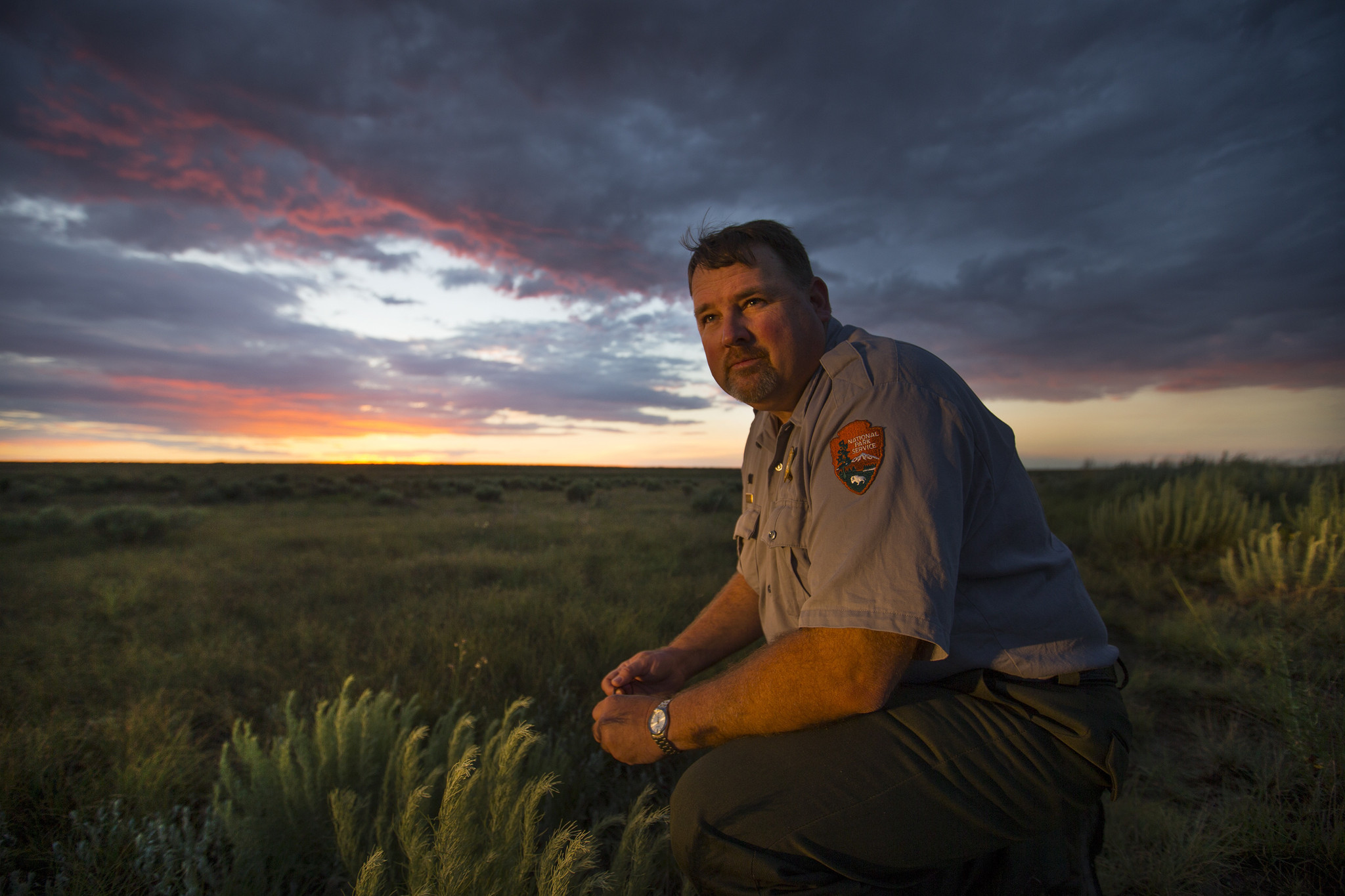 Shawn Gillette is the chief of interpretation at Sand Creek Massacre National Historic Site.