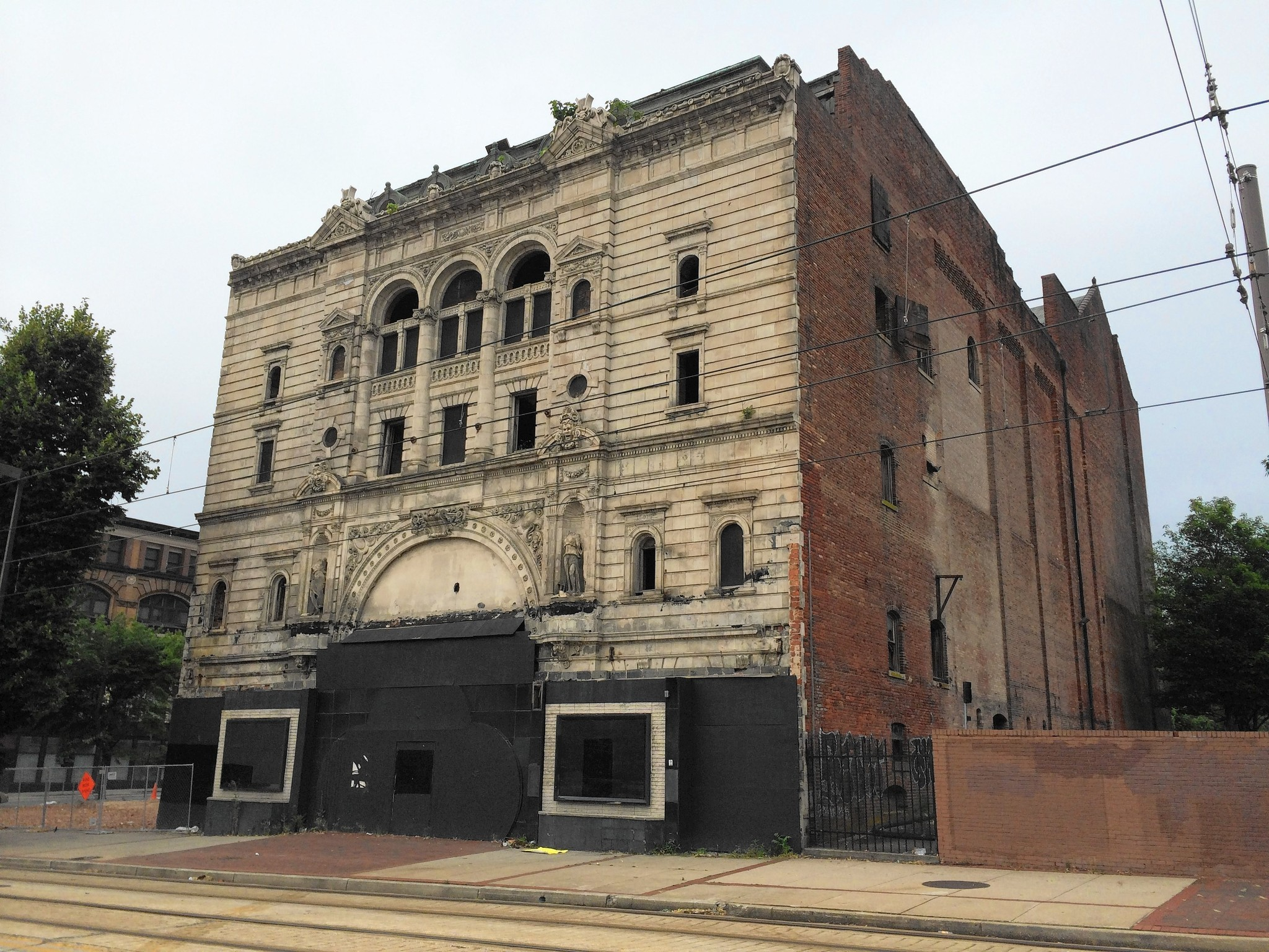 much of mayfair theatre to be razed baltimore sun