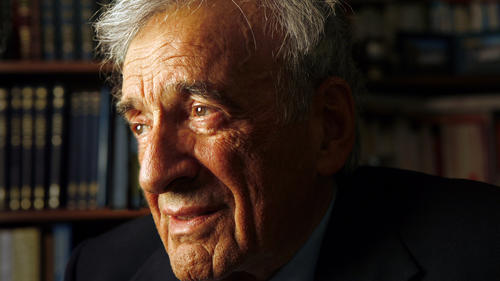 Elie Wiesel in New York City on Jan. 28, 2009.