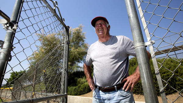 Ted Haller is retiring after 35 years of keeping the grounds at Glendora Little League fields.