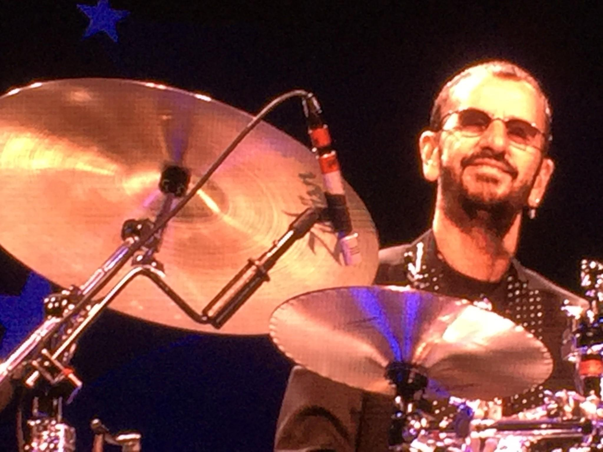 ringo starr and his all starr band wrap 2016 tour but promise new music is on the horizon la times. Black Bedroom Furniture Sets. Home Design Ideas