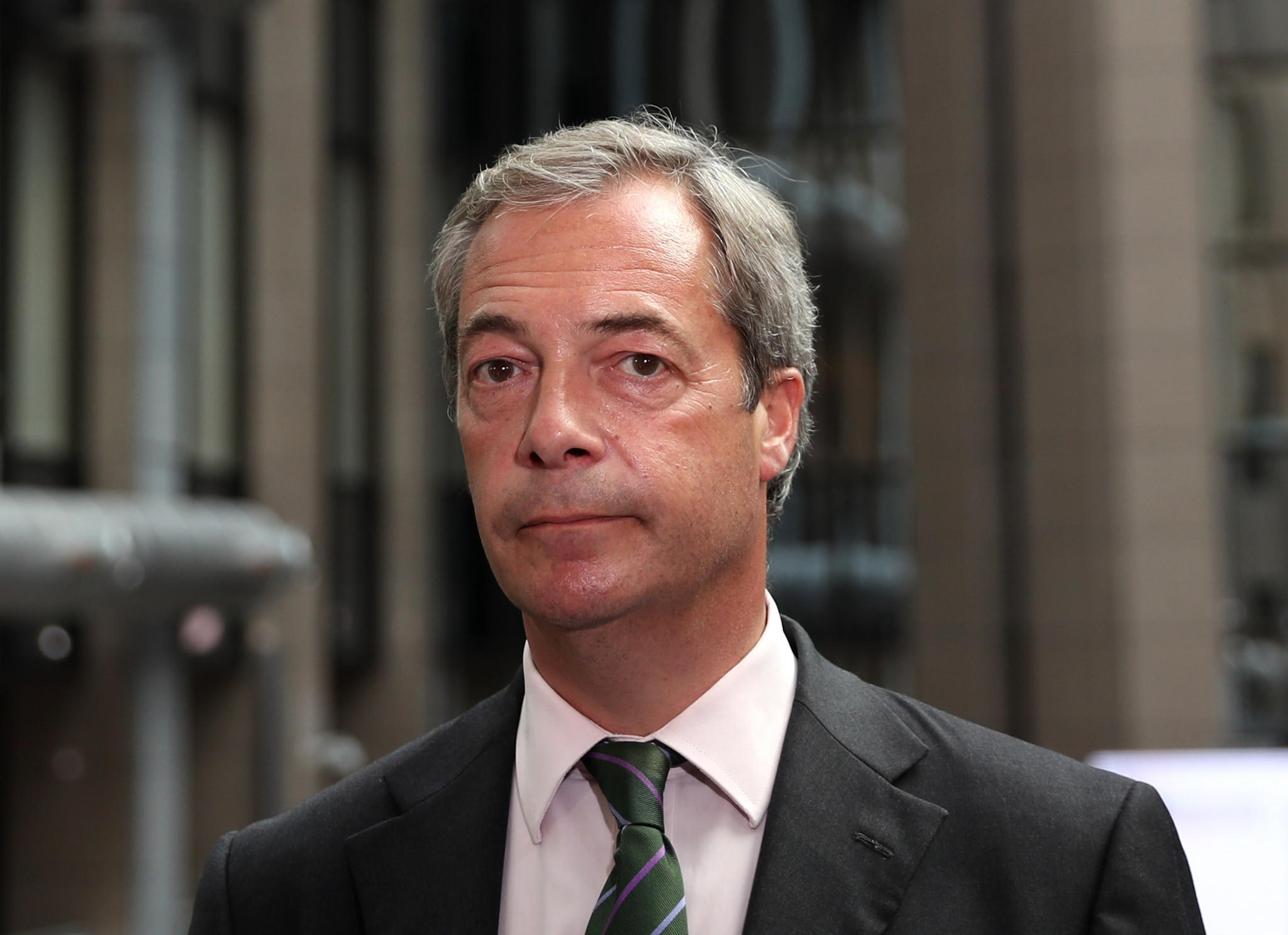 Nigel Farage, head of the UK Independence Party, resigns after 'Brexit' victory