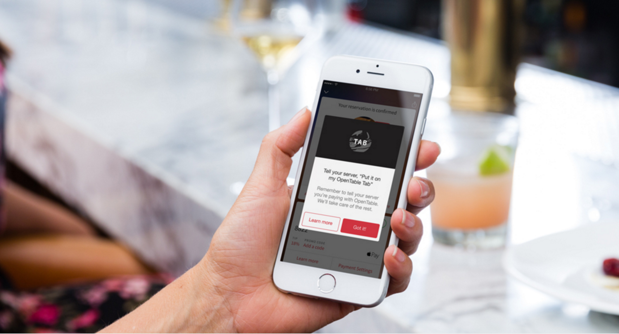 OpenTable takes the paperwork and credit-card swap out of paying at restaurants.