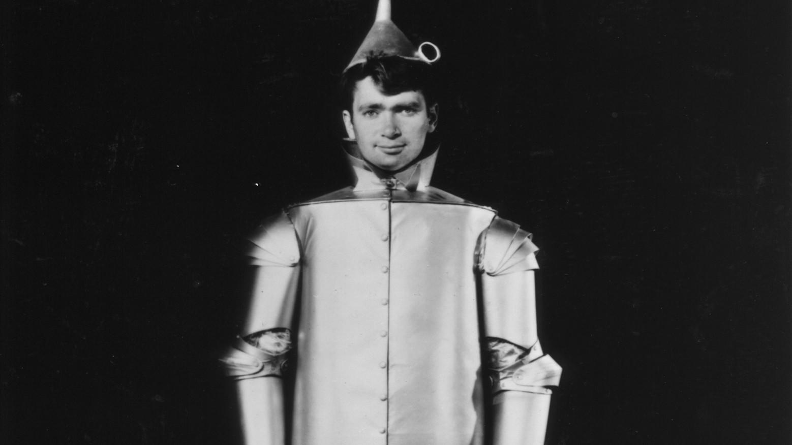"""Buddy Ebsen was the original Tin Man in """"The Wizard of Oz,"""" until he fell ill from the aluminum dust in his makeup."""