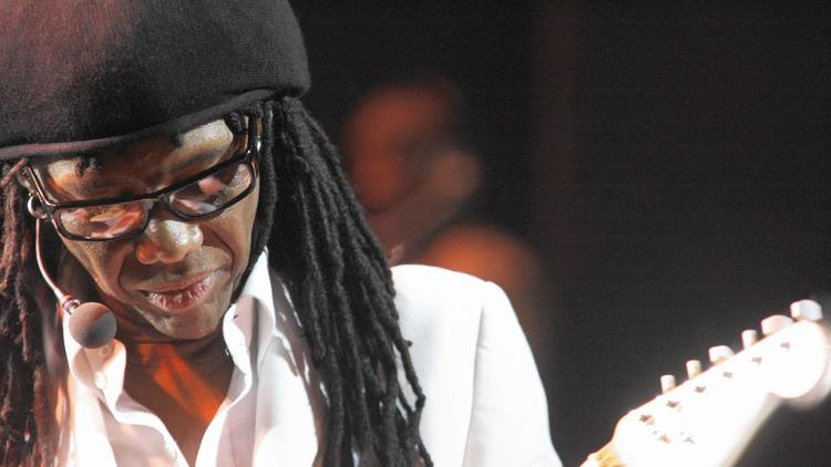 Nile Rodgers, of Chic