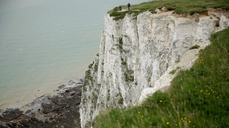 The White Cliffs of Dover in southeast England owe their color to thousands of years of calcification by phytoplankton.