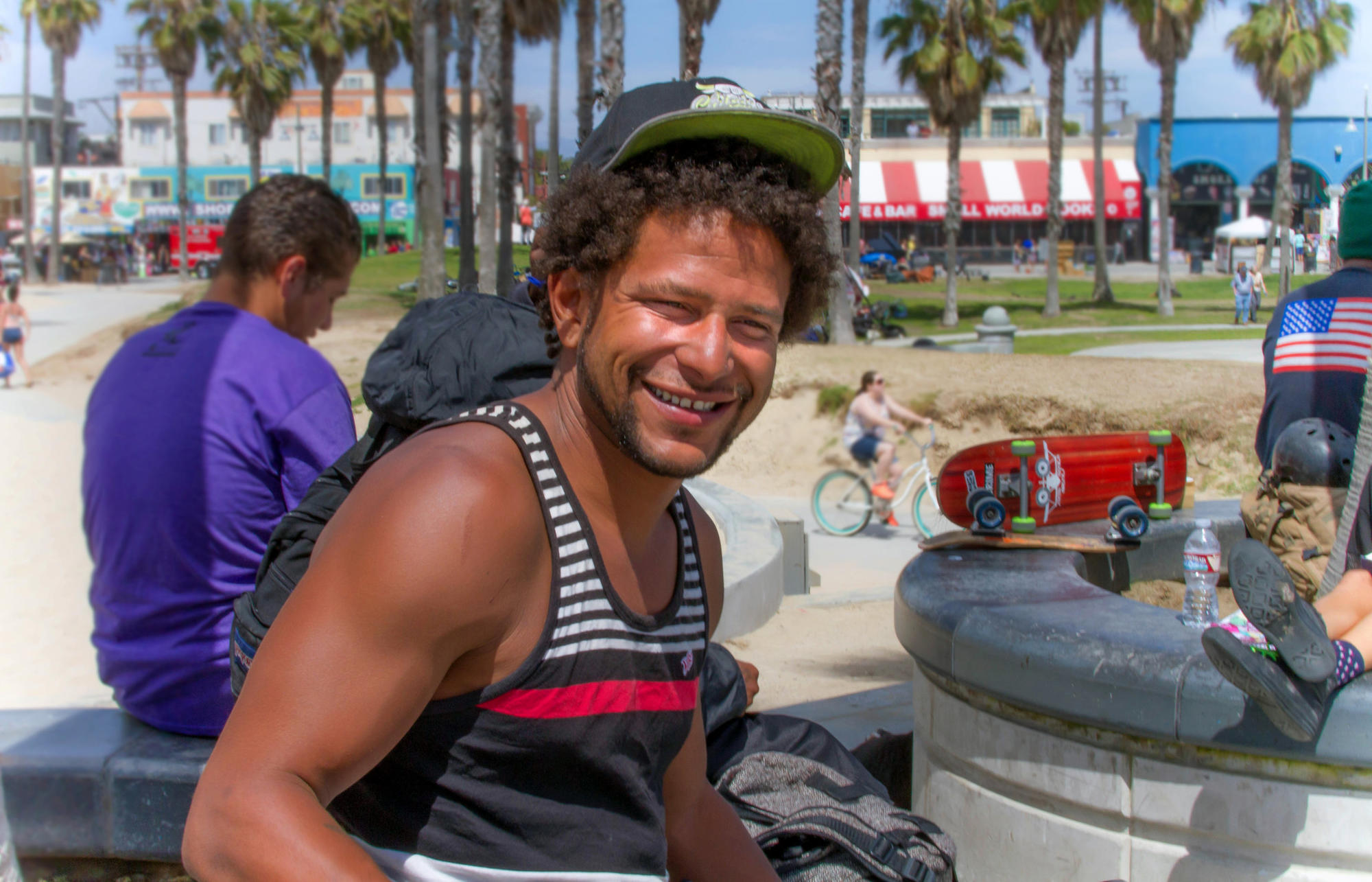 Local filmmaker Mike Costanza took this photo of Brendon Glenn on April 30, 2015, five days before he was shot by the LAPD.