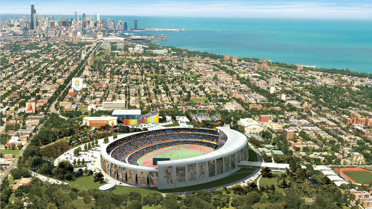 Chicago S Olympics Bid Where The Venues Would Have Been