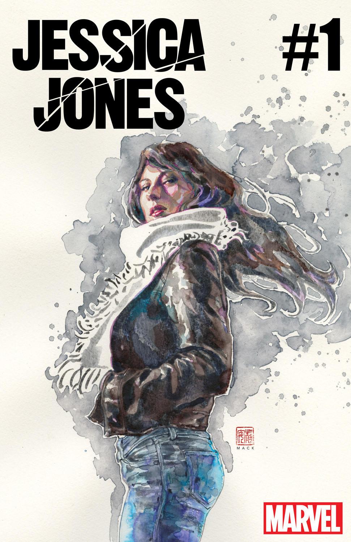 "The cover of ""Jessica Jones"" No. 1. (David Mack / Marvel)"