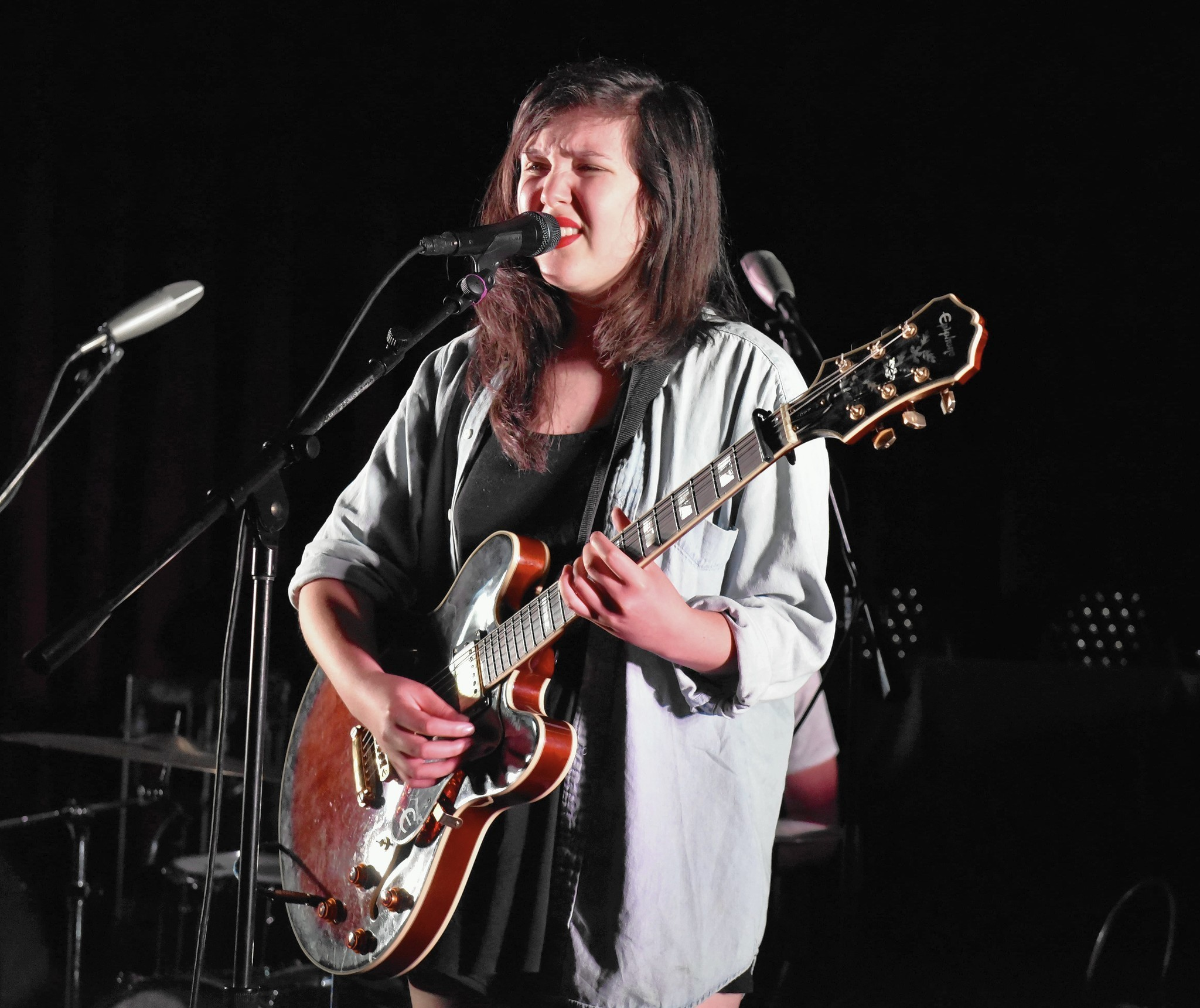 indie rocker lucy dacus at outer space hartford courant. Black Bedroom Furniture Sets. Home Design Ideas