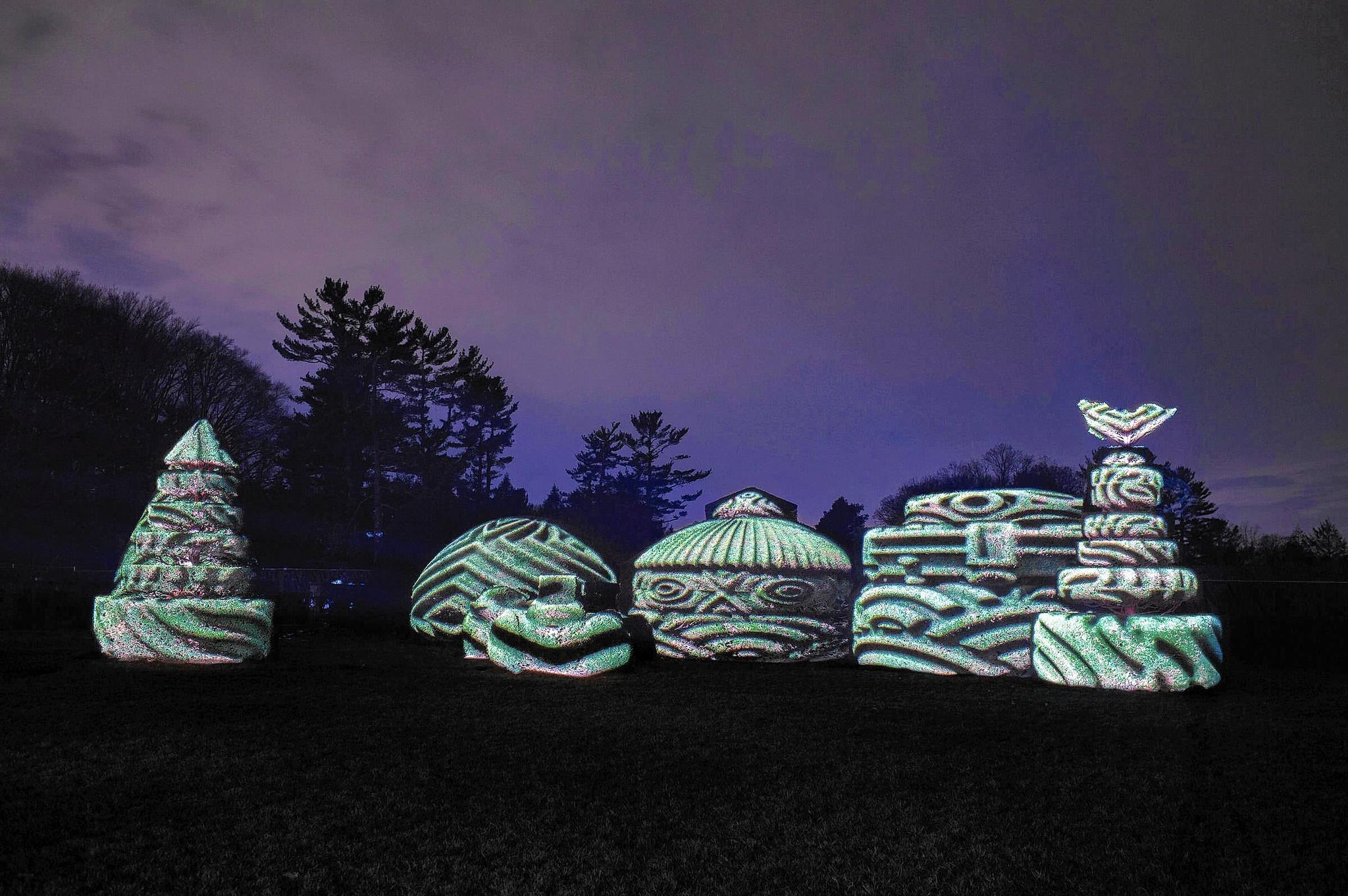 Longwood Gardens Hours Nightscape Garden Ftempo