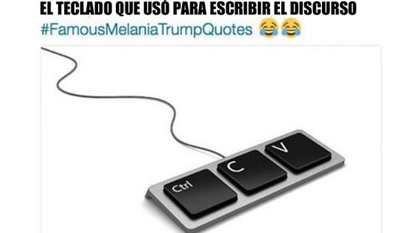 Estos son los memes más graciosos sobre el supuesto plagio de Melania Trump