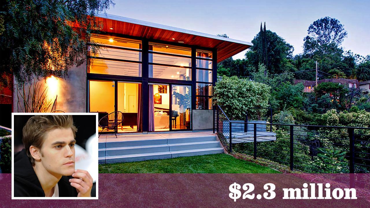 actor paul wesley makes quick work of selling studio city home la times. Black Bedroom Furniture Sets. Home Design Ideas