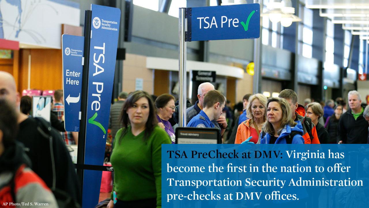 Newport News DMV now offers TSA services - Daily Press