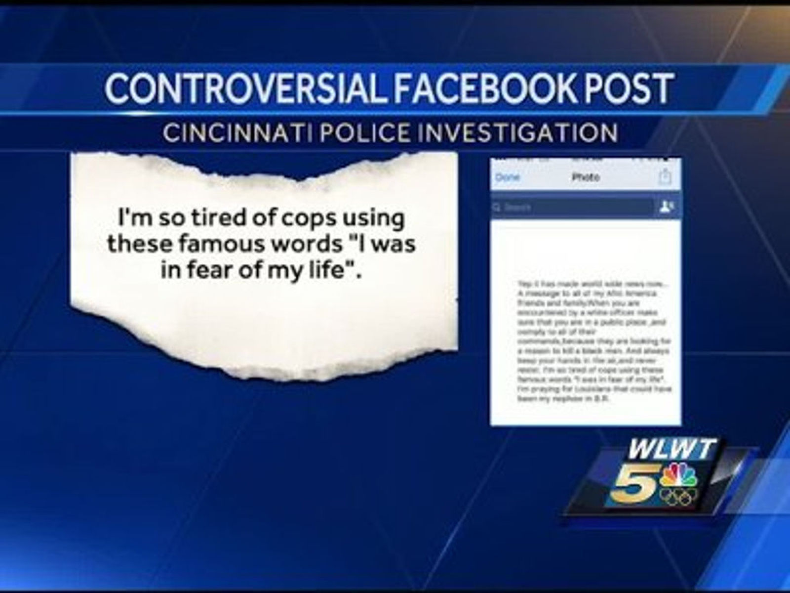 Cincinnati officer under review after controversial ...