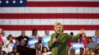 Can Hillary Clinton build voters' trust at the Democratic convention?