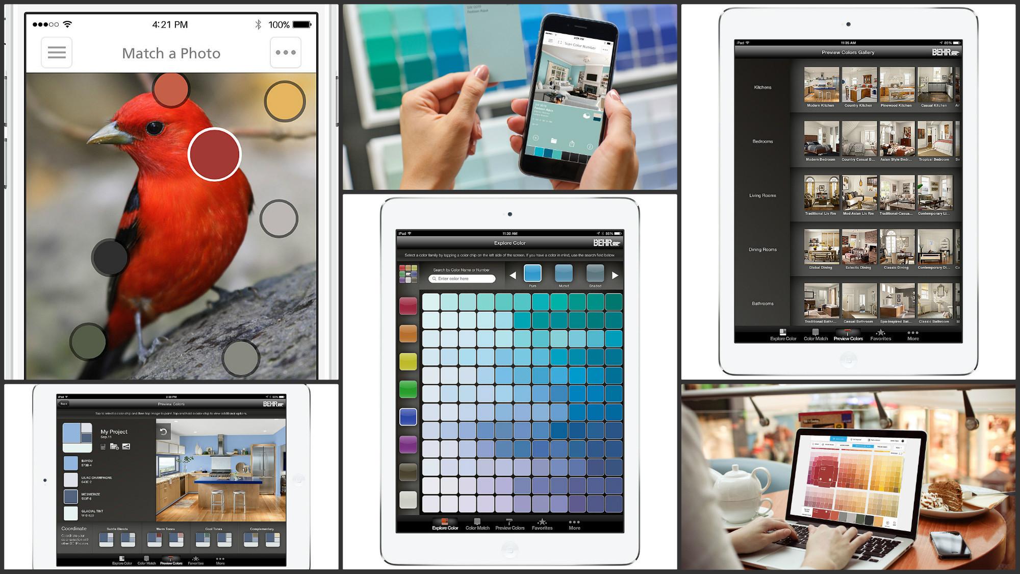 Color Match Paint App Design Decoration