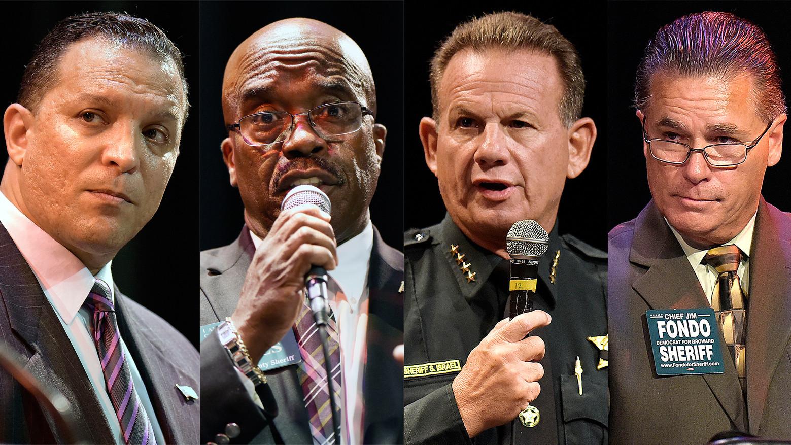 Broward sheriff candidates: No race problems here - Sun ...