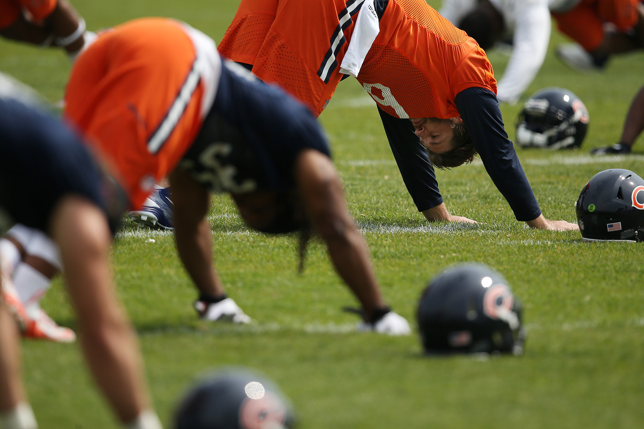 your guide to surviving bears training camp redeye chicago. Black Bedroom Furniture Sets. Home Design Ideas