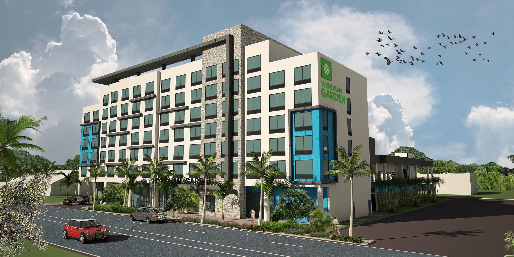 Construction Begins On New Wyndham Garden Hotel In Dania Beach Sun Sentinel
