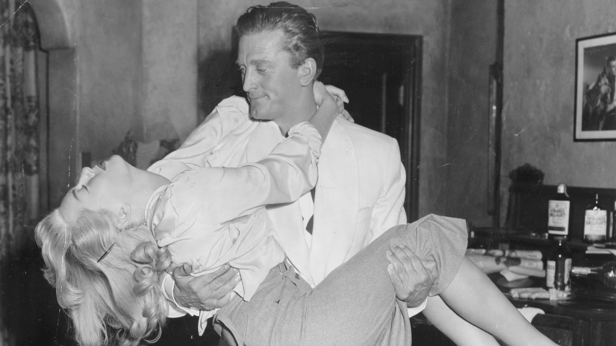 Lana Turner and Kirk Douglas in MGM's